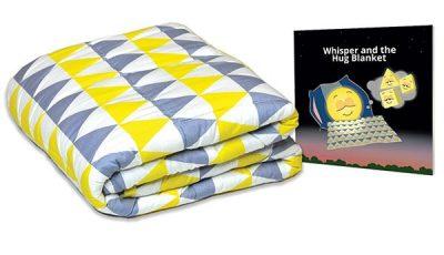 Hug Blanket and Book